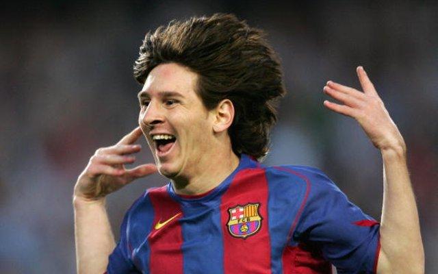 Lionel Messi Albacete