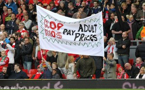 Liverpool Fan Protest 1