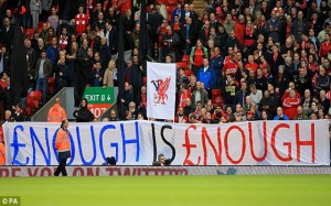 Liverpool Fan Protest 4