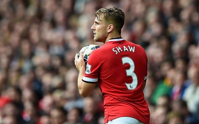 Luke Shaw Man Utd