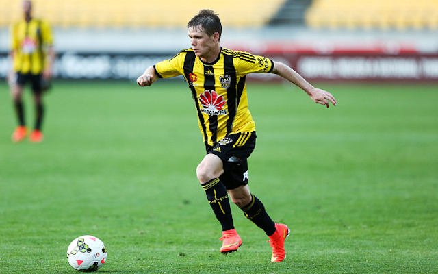 Michael McGlinchey Wellington Phoenix
