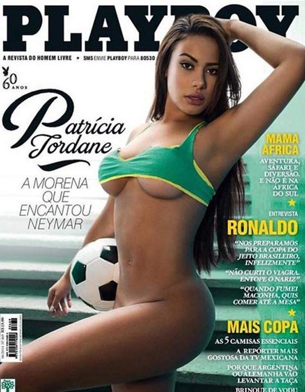 Patricia Jordane Neymar WAG 1