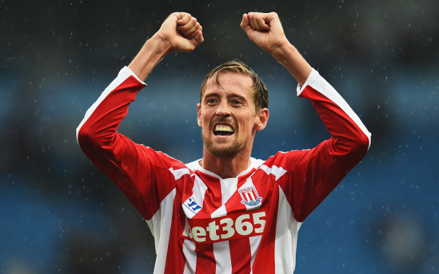 Peter Crouch Stoke