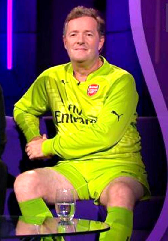 Piers Morgan - Arsenal fan and fkw