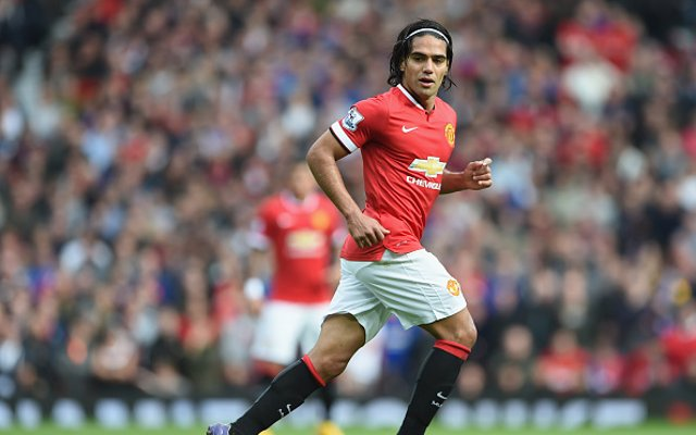 Radamel Falcao Man Utd