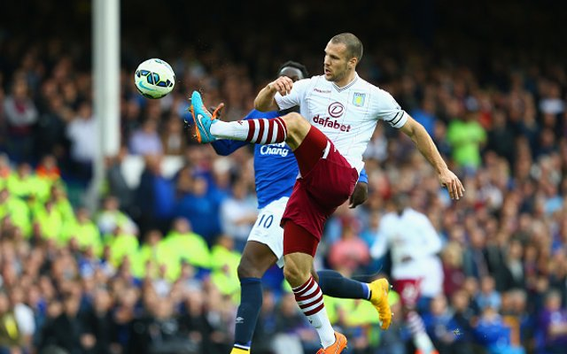 Ron Vlaar Aston Villa Everton