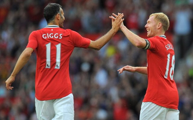 Ryan Giggs Paul Scholes Manchester United