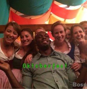 Usain Bolt Oktoberfest