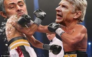 Wenger v Mourinho Fight Meme 10
