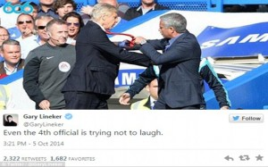 Wenger v Mourinho Fight Meme 11