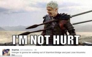 Wenger v Mourinho Fight Meme 6