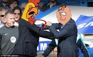 Wenger v Mourinho Fight Meme 8