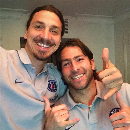 Ibrahimovic and Maxwell won 24 trophies together