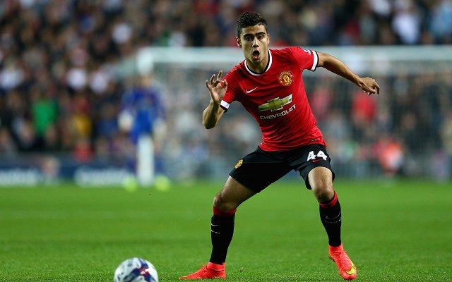 Andreas Pereira Manchester United