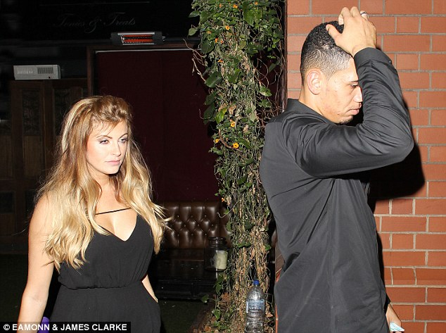 Chris Smalling and girlfriend Sam Cooke