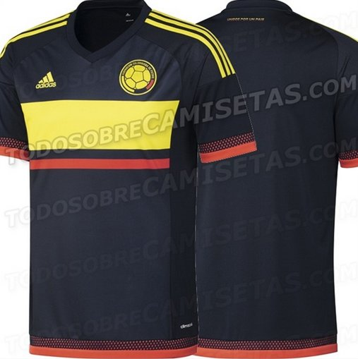 Colombia away shirt