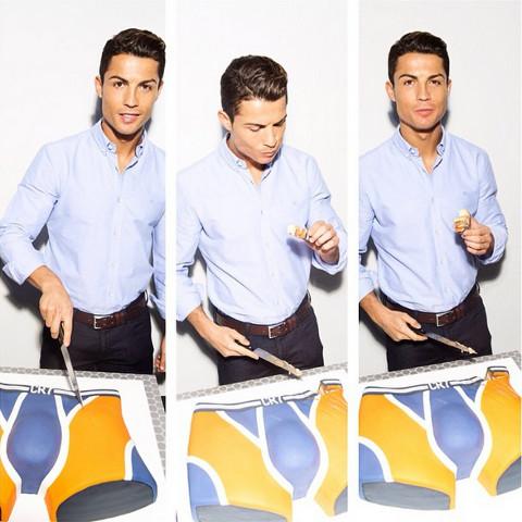 Cristiano Ronaldo CR7 Underwear Cake