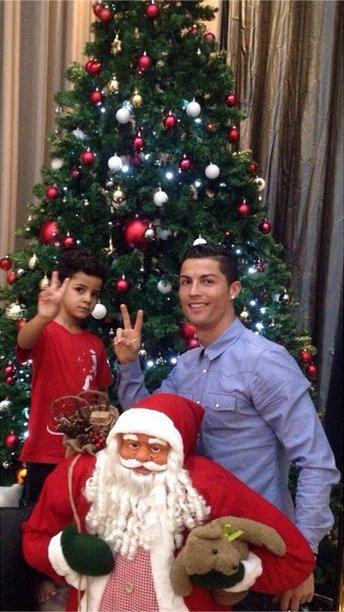 Cristiano at Christmas