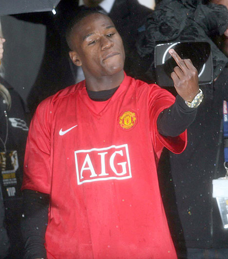 Floyd Mayweather, Man United
