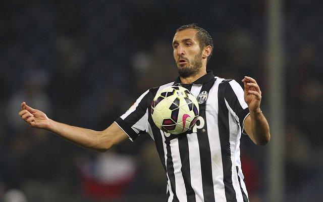Giogio Chiellini Juventus