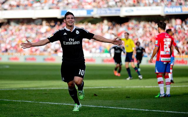 Video) Granada 0-4 Real Madrid: James Rodriguez Grabs Brace & Cristiano Ronaldo Scores 20th of the Season | CaughtOffside