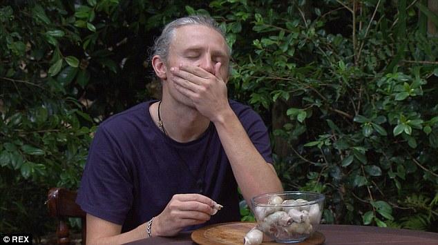 Jimmy Bullard, sheep testicle