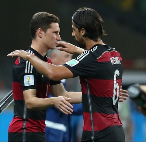 Julian Draxler Sami Khedira Germany Arsenal