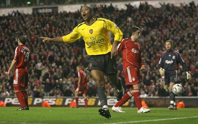 Julio Baptista Arsenal Liverpool