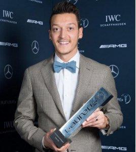 Mesut Ozil Arsenal Charity Award