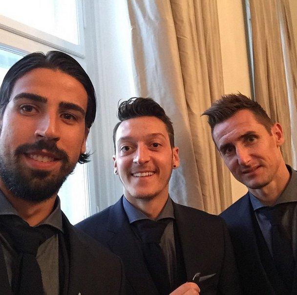 Mesut Ozil Instagram