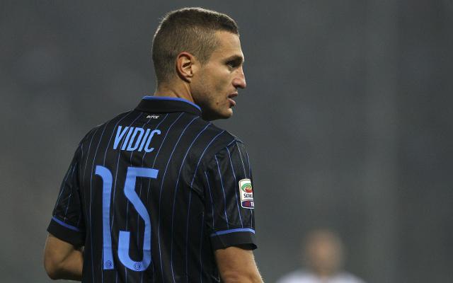 Nemanja Vidic Inter Milan