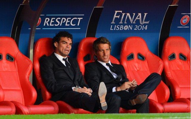 Pepe Fabio Coentrao Real Madrid