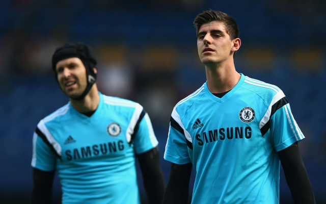 Petr Cech Thibaut Courtois Chelsea