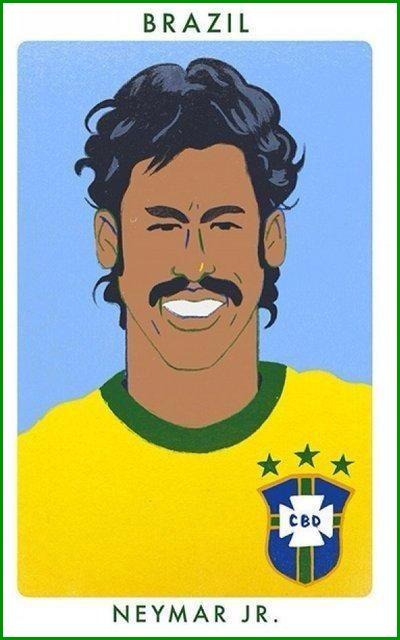 Retro Neymar