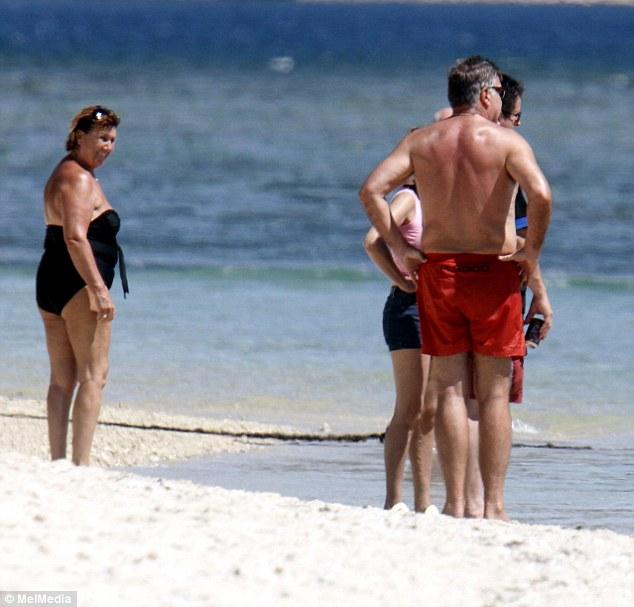 Sam Allardyce topless