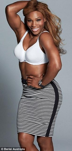 edf2afa872d1c Images) WOW! Serena Williams Flashes The Flesh  Hot Tennis Megastar ...