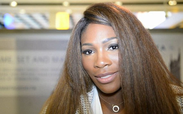 fe82bf3b4c (Image) Tennis Queen Serena Williams Packs A Lot Of Love Into One Paris  Photo