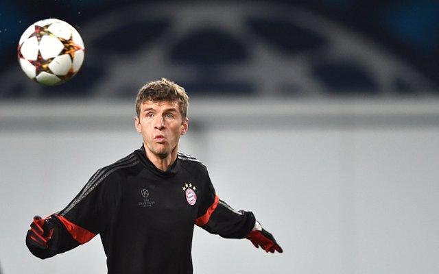 Thomas Muller Bayern Munich Training