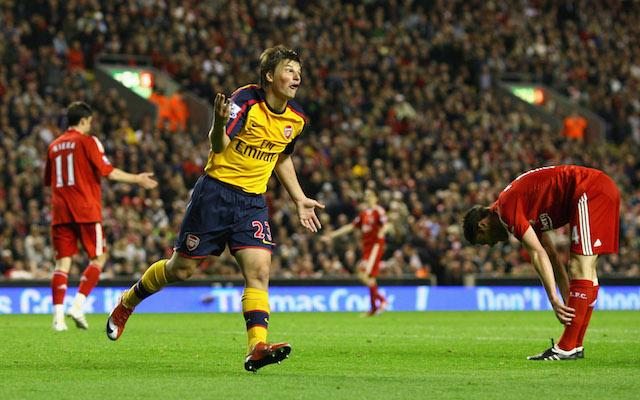Andrey Arshavin Arsenal Liverpool