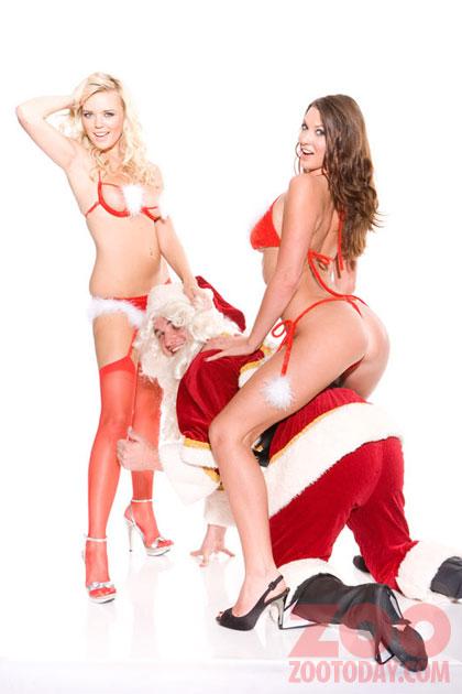Alice Goodwin rides Santa