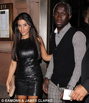 Bacary Sagna and wife Ludivine