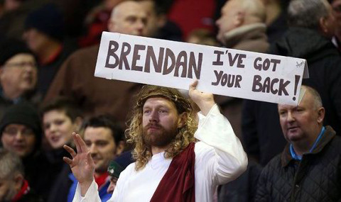 Brendan Rodgers Liverpool Jesus 2