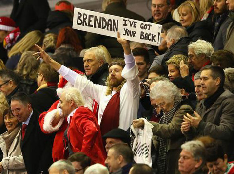 Brendan Rodgers Liverpool Jesus