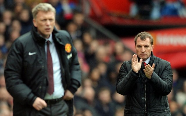 Brendan Rodgers Liverpool Man Utd