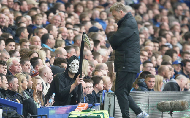 David Moyes Manchester United Grim Reaper