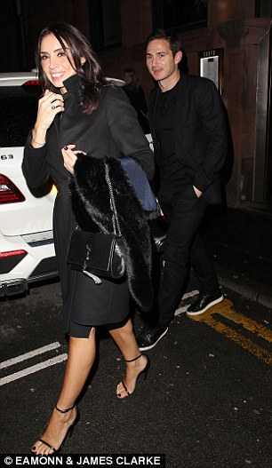 Frank Lampard and girlfriend Christine Bleakley