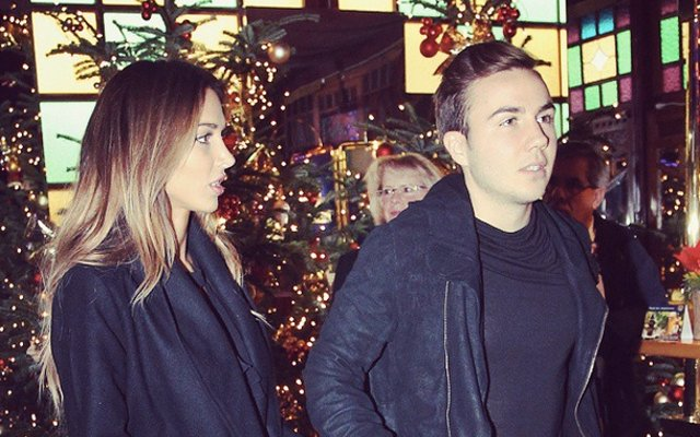 Gotze and girlfriend