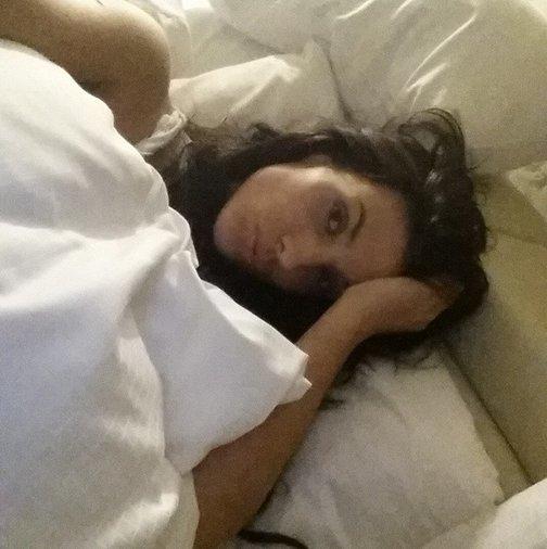 Ludivine Sagna in bed