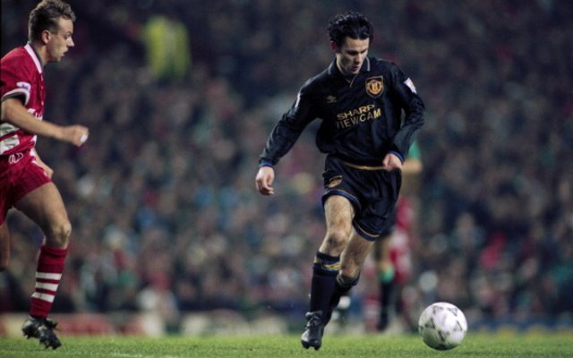 Ryan Giggs Man United Liverpool 1994