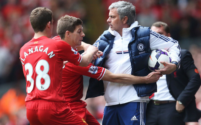 Steven Gerrard Jon Flanagan Liverpool Jose Mourinho Chelsea
